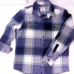 AEO American eagle Outfitters Thick Flannel Mens L